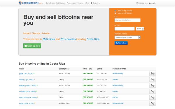 Localbitcoins in Deutschland – Bitcoins kaufen mit VPN