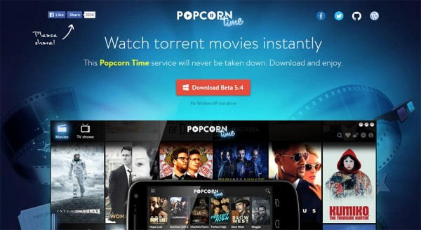 Torrents Time, Popcorn Time Online und VPN
